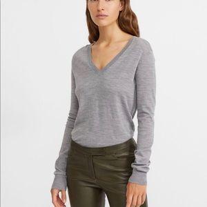 Theory Adrianna wool V Neck Sweater